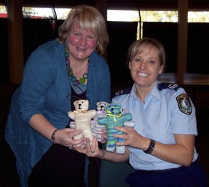 Arjay Creations - Local Police Employ Trauma Teddies - 15th Jun 2012