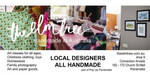 Arjay Creations - The Elm Tree - Pop Up Shop - Parramatta - 27th Sep 2013