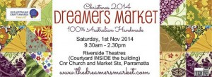 Arjay Creations at Dreamer's Markets - 1st November - 2014